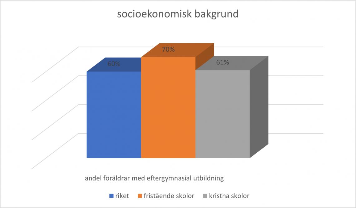 diagram socioekonomisk bakgrund